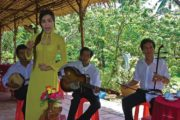 traditional South Vietnamese musical performance