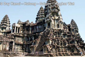 Pa Tour 10 Day Hanoi – Halong – Saigon – Angkor Wat