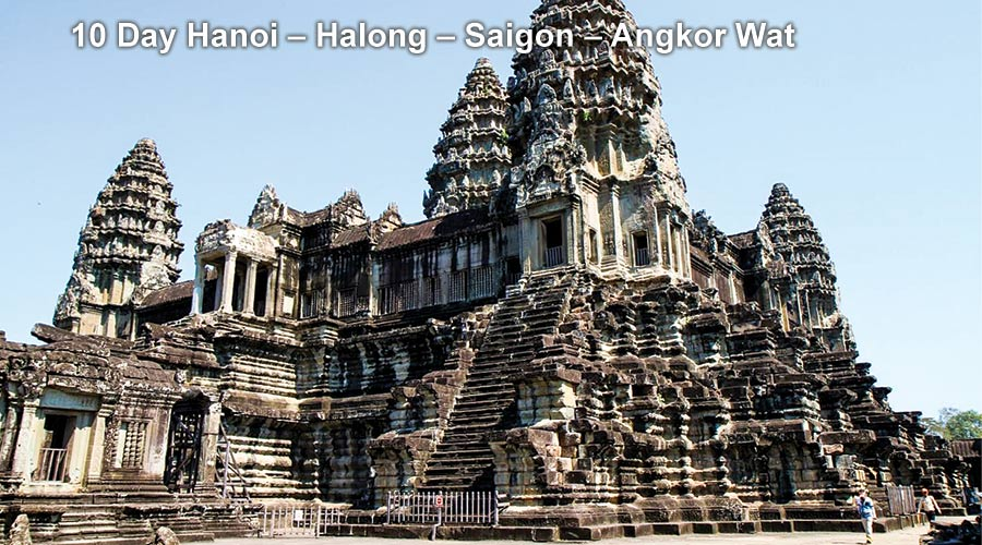 Pa Tour 10 Day Hanoi – Halong – Saigon – Angkor Wat