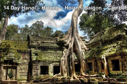 Pa Tour 14 Day Hanoi – Halong – Hoian – Saigon – Cambodia