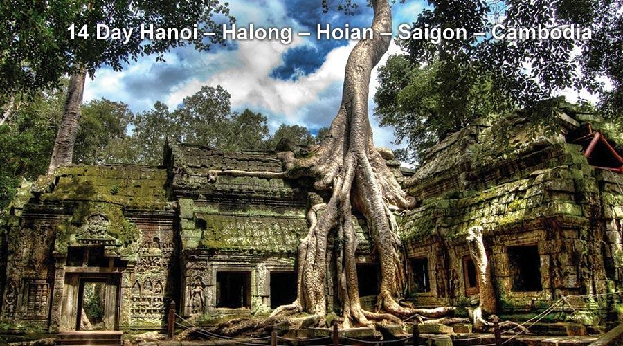 Pa Tour 14 Day Hanoi – Halong – Hoian – Saigon – Cambodia
