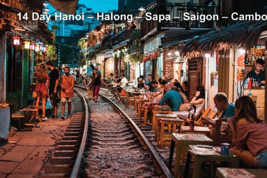Pa Tour 14 Day Hanoi – Halong – Sapa – Saigon – Cambodia