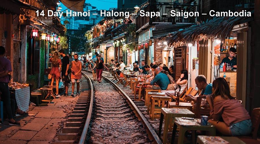 Pa Tour 14 Day Hanoi – Halong – Sapa – Saigon – Cambodia