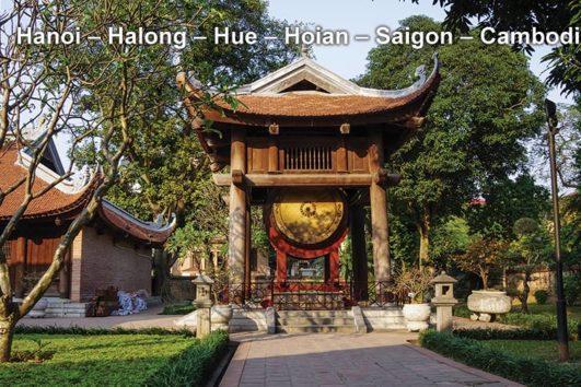 Pa Tour Hanoi – Halong – Hue – Hoian – Saigon – Cambodia