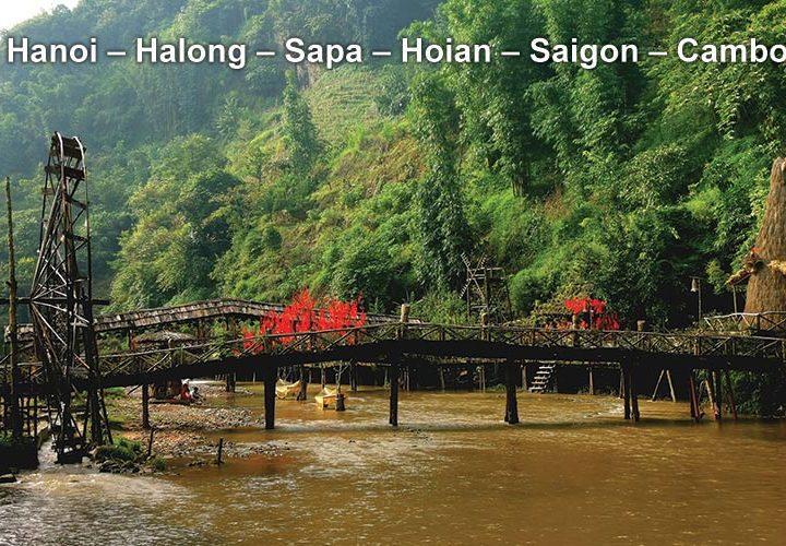 Pa Tour Hanoi – Halong – Sapa – Hoian – Saigon – Cambodia