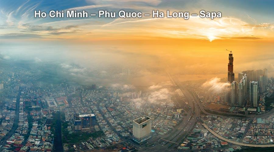 Pa Tour Ho Chi Minh – Phu Quoc – Ha Long – Sapa