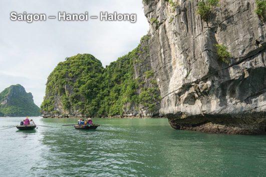 Pa Tour Saigon – Hanoi – Halong