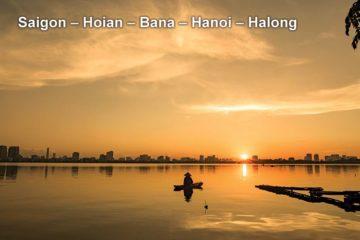 Pa Tour Saigon – Hoian – Bana – Hanoi – Halong