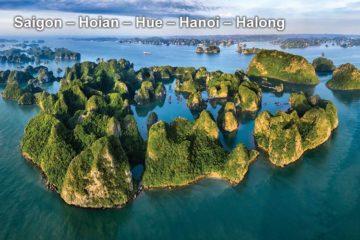 Pa Tour Saigon – Hoian – Hue – Hanoi – Halong
