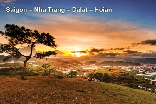 Pa Tour Saigon – Nha Trang – Dalat – Hoian