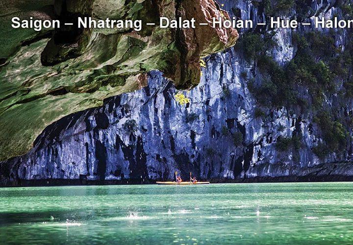 Pa Tour Saigon – Nhatrang – Dalat – Hoian – Hue – Halong
